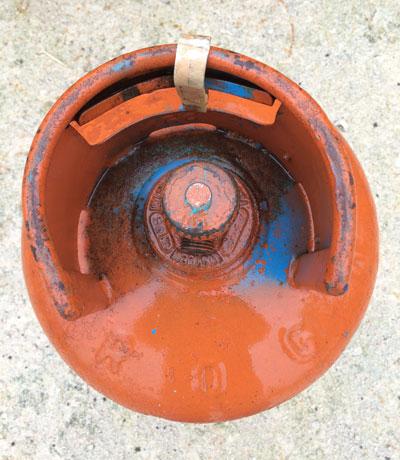 Bombole del gas sospette