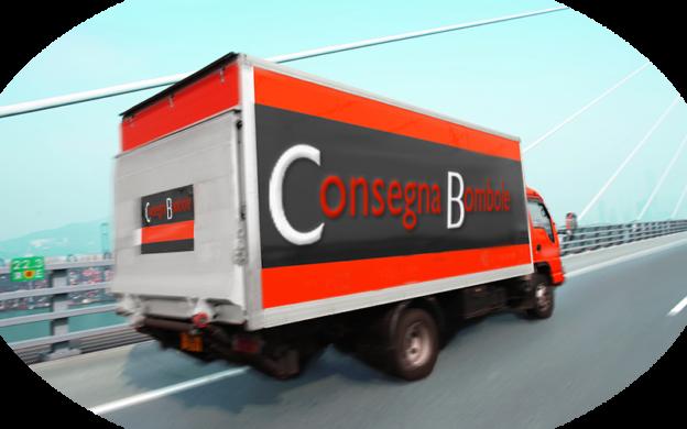 Trasporto e consegna delle bombole di gas
